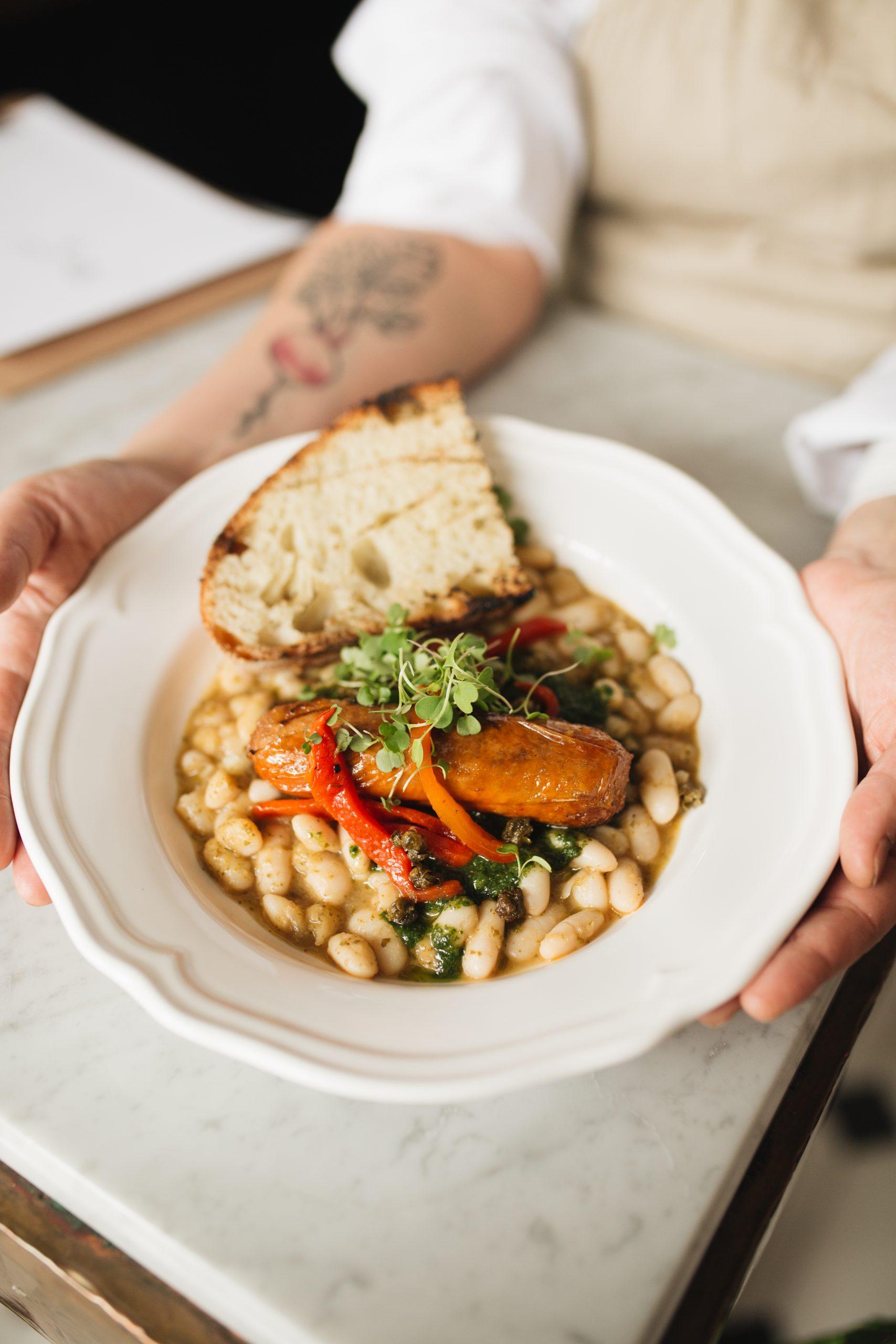 Restaurant Radis, Vegan Italian Cuisine at its Best.